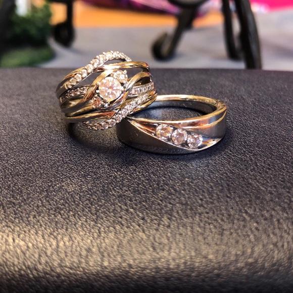 Wedding Rings Kay Jewelry.Wedding Ring Set